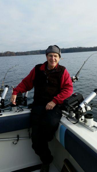 Musky charter for Capt bob fishing